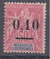 MADAGASCAR  N� 53 NEUF* TTB