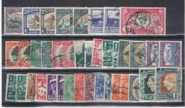AFS 3 - AFRIQUE DU SUD Lot De 38 Val. Oblitérés - Sud Africa (...-1961)