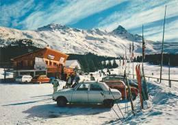 21663 Meribel Les Allues. Sport D'hivers Vieille Voiture Ski. CIM 73.015.00.0.0089 Uni Sco