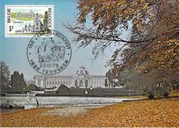 BELGIQUE CARTE MAXIMUM NUM.YVERT 1953 MUSEE ROYAL TERVUREN - Maximumkarten (MC)