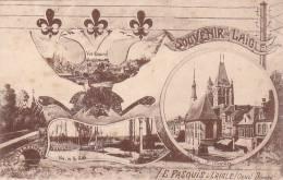21667 L´AIGLE - SOUVENIR DE L'AIGLE - Ed : PASQUIS -vue Generale, Saint Martin, Rilleelectricité