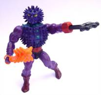 FIGURINE MAITRES DE L´UNIVERS - HE-MAN -  MOTU - MASTER OF UNIVERSE -  SPIKOR (1) - Maîtres De L'Univers