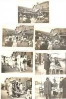 Hermeton-sur-Meuse Kermesse Et Procession Pompier 7 Photos Vers 1930 - Hastière