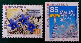 FLORE ENDEMIQUE 1992 - NEUFS ** - YT 165/66 - MI 205/06 - Croazia