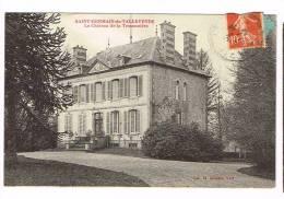 SAINT-GERMAIN-DE-TALLEVENDE  ( Calvados  )  Le Château De La Tessonnière - France