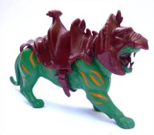 FIGURINE MAITRES DE L´UNIVERS - HE-MAN -  MOTU - MASTER OF UNIVERSE -  TIGRE DE COMBAT - Maestros Del Universo