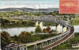 Nex Railway Bridge , Charleston An Kanowha West Virginia -  Texte En ESPERANTO ? (51477) - Etats-Unis