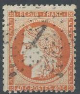 Lot N°21632   N°38, Oblit étoile Chiffrée 1 De PARIS ( Pl De La Bourse ) - 1870 Siege Of Paris