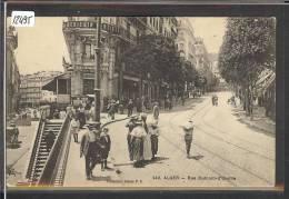 ALGERIE - ALGER - RUE DUMONT D'URVILLE - TB - Algiers