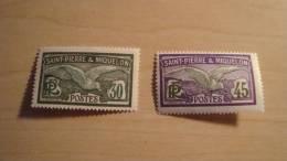 St. Pierre And Miquelon  1926  Mix Lot  Mint Not Hinged - St.Pedro Y Miquelon