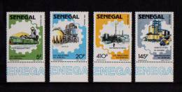 SENEGAL 1988 N° 772** A 775** Industries Du Sénégal Phosphate SEIB Mbao BDF Texte - Senegal (1960-...)