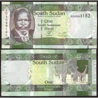 SOUTH SUDAN : 1 Pound Del 2011  Pick 5   FdS UNC - Sudan