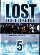 LOST - Les Disparus - Intégrale Saison 5  -  ( 5 DVD - Vol. 1, 2, 3, 4, 5  ) . - Action, Aventure