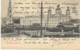St.-Petersbourg - La Cathédrale De St. Nicolas - Russia
