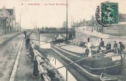 62.CALAIS LE PONT ST PIERRE ANIME - Calais