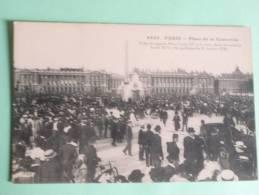 PARIS - Place De La Concorde - Arrondissement: 08