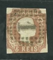 Portugal #10 D.Pedro 5r Used - L1563 - 1855-1858 : D.Pedro V