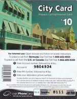 BERMUDA ISL. - City Card, Logic Prepaid Card $10, Used - Bermuda