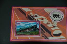 Liberia Postfris Treinen - Treni