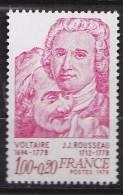 N° 1990 Personnages Célèbres: Voltaire Et Rousseau - France
