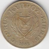 @Y@   Cyprus  20 Cent 1985    (2168) - Chypre