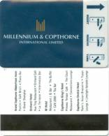 Keycard - Millennium & Copthorne - Hotelkarten