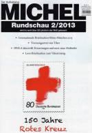 MICHEL Briefmarken Rundschau 2/2013 Neu 5€ New Stamp Of The World Catalogue And Magacine Of Germany ISBN 4 194371 105009 - Creative Hobbies