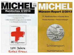 MICHEL Briefmarken Rundschau 2/2013 Neu 5€ New Stamps Of The World Catalogue Magacine Of Germany ISBN 4 194371 105009 - Tedesco