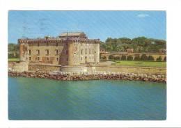 C2472 Ladispoli (Roma) - Castello Odescalchi - Veduta Aerea / Viaggiata 1971 - Italia