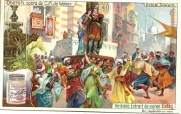 Image Publicitaire - LIEBIG - Oberon, Opéra De C.M. De Weber - Acte III Scène 14 - Publicité