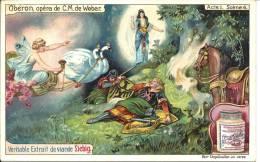 Image Publicitaire - LIEBIG - Oberon, Opéra De C.M. De Weber - Acte I Scène 6 - Publicité