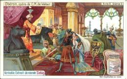 Image Publicitaire - LIEBIG - Oberon, Opéra De C.M. De Weber - Acte II Scène 2 - Publicité
