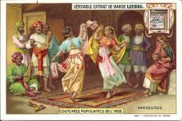 Image Publicitaire - LIEBIG - Coutumes Populaires De L'Inde - Danseuses - Publicité