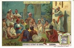 Image Publicitaire - LIEBIG - Coutumes Populaires De L'Inde - Diseurs De Contes - Publicité