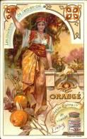 Image Publicitaire - LIEBIG - Les Couleurs De L'Arc En Ciel - Orangé - Publicité