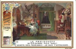 Image Publicitaire - LIEBIG - Le Freischütz Par Ch. M. De Weber - Acte II - Scène 1 - Publicité