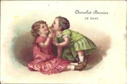 Image Publicitaire Chocolat - Chocolat BESNIER - Enfants - Chocolat