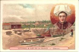 Image Publicitaire Chocolat - PHOSCAO - Littoral Et Ile De La France - Oléron - Chocolat
