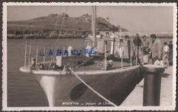 29----Commune De PLOUDALMEZEAU---ARGENTON--départ De L'Iroise---cpsm--animé - Ploudalmézeau