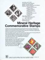 U.S. SP 350  MINERAL  HERITAGE - Souvenirs & Special Cards