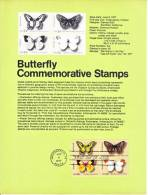 U.S. SP 428  BUTTERFLY - Souvenirs & Special Cards