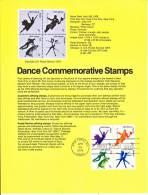 U.S. SP 447  DANCE - Souvenirs & Special Cards