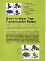 U.S. SP 457   FLORA  TREES - Souvenirs & Special Cards