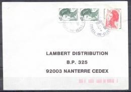 LETTRE Cachet  De  77 GREGY Sur YERRES    Le 6 7 1984  Pour NANTERRE 92003 - 1982-90 Liberté De Gandon