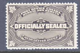 Canada  OX 4 Officially Sealed   * - Registration & Officially Sealed