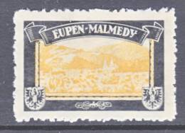 Germany  MOURNING  LABEL  LOST COLONY  EUPEN-MALMEDY  * - Occupation 1914-18