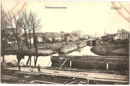 ALLEMAGNE / GERMANY - PARCHIM - Schleusenpanorama +++ Lewiston, IDAHO, USA, 1911 +++ W. B. L. H., #314 +++ - Parchim