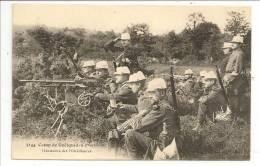 56 - Camp De Coëtquidan - Manoeuvre Des Mitrailleuses - Ed. Minvielle N° 5144 - Guer Coetquidan