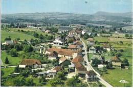 Z 842 CPM  DOMESSIN  VUE GENERALE AERIENNE - France