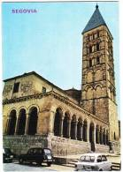 Segovia: SEAT 850, RENAULT 4 & 8 - Iglesia De San Esteban - Auto/Car - Spain - Passenger Cars
